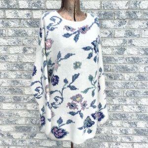 VTG Express Tricot Silk Angora Oversized Sweater